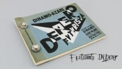 Fortunato Depero's Bolted Book: Depero Futurista (Dinamo-Azari, Milan, Italy, 1927), artist's book bound with bolts, 32 x 24.2 cm. 