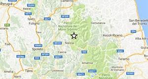 Terremoto oggi, Perugia: alle 13.50 scossa di magnitudo 4.7