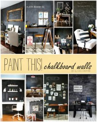 Paint This! Chalkboard Walls in Office Spaces - It All ...