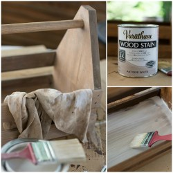 How to Stain Wood White It All Started With Paint