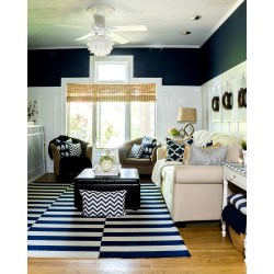 Compelling Batten Living Room Fall Home Tour Living Room It All Started Board Paint Living Room Color Schemes Living Room Combo Layout Ideas living room Living Dining Room