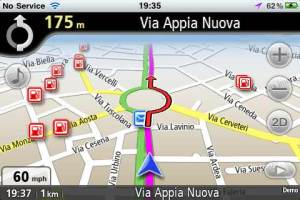Navmii Italy GPS app for the iPhone