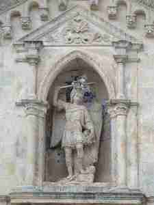 Saint Michael at the Sanctuary of Saint Michael in Apulia