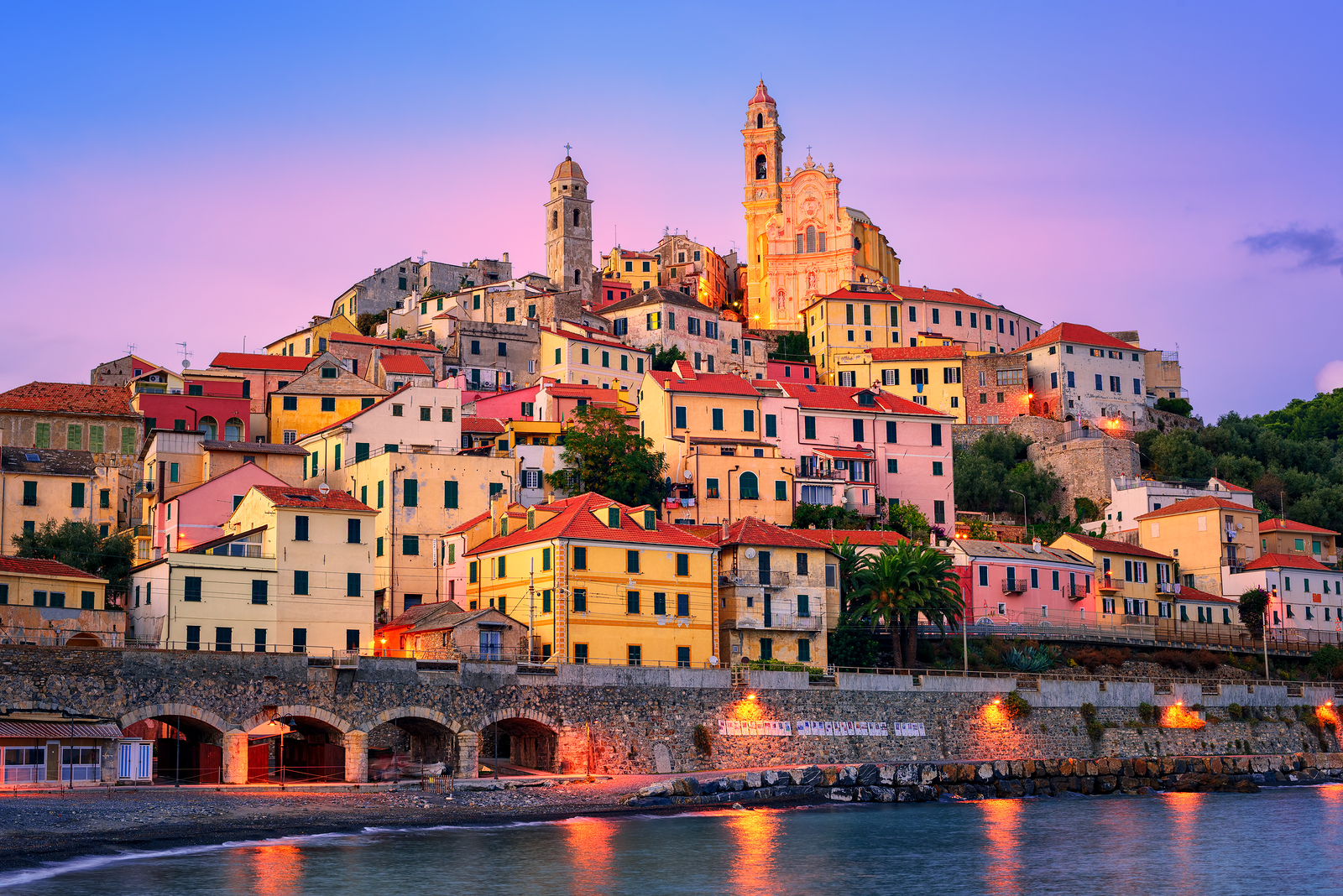 Fall Beach Wallpaper 5 Italian Riviera Hill Towns That Will Lure You From The