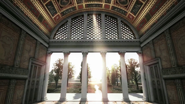 3d House Wallpaper Room In Rome Nero S Domus Aurea Comes To Life With 3d