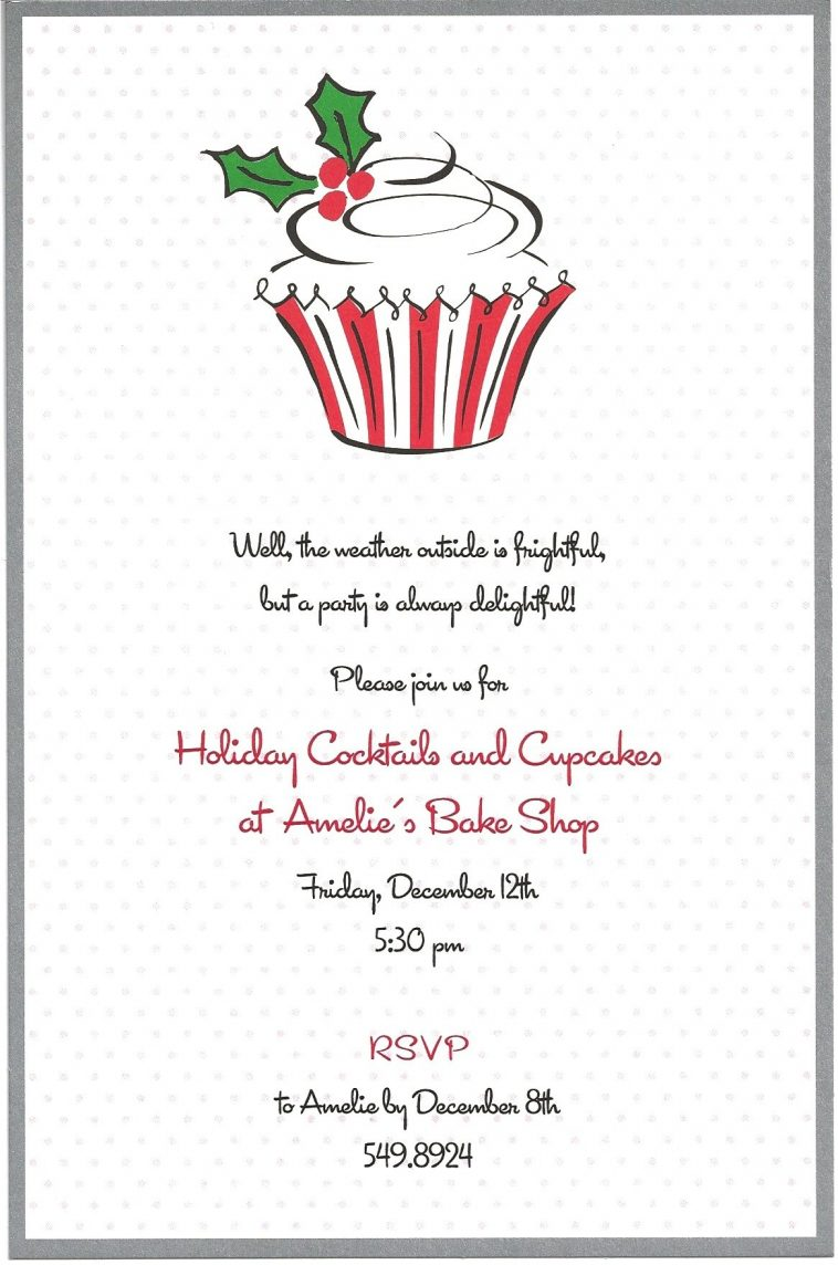 Christmas Party Invitation Letter To Employees – Sample Christmas Party Invitation Letter
