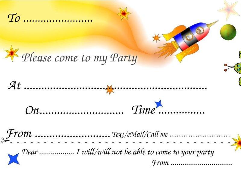 Invitation card birthday party template invitationswedd free printable invitation cards for birthday party kids filmwisefo