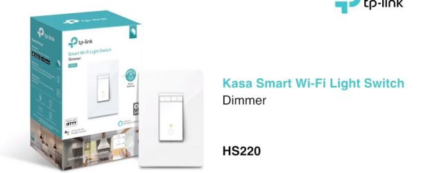 Installing and using the TP-Link HS220 dimmable switch IT Business