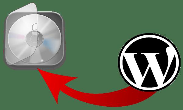 Backup WordPress Site and database