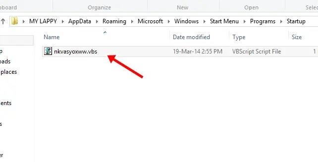 shortcut virus delete
