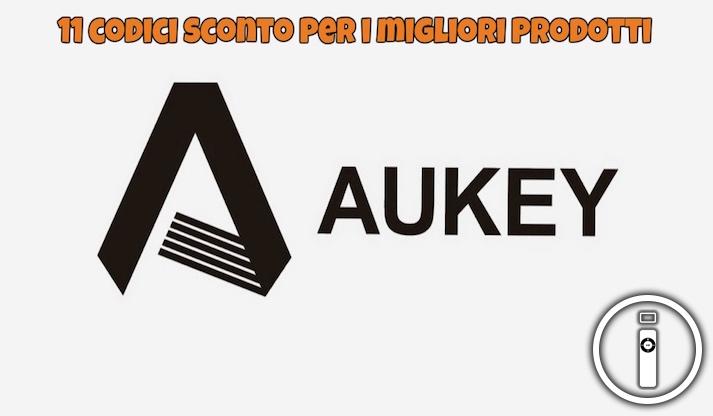 Coupon Aukey, tanti codici sconto disponibili!