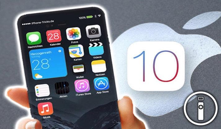 iOS 10 Beta 7 rilasciata per gli sviluppatori e beta tester!