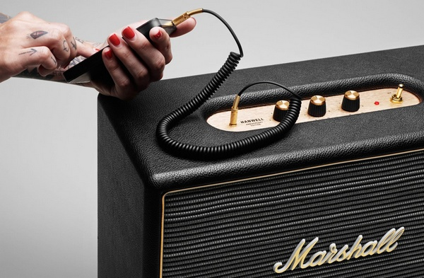 Marshall Hanwell Anniversary Edition Speaker iphone