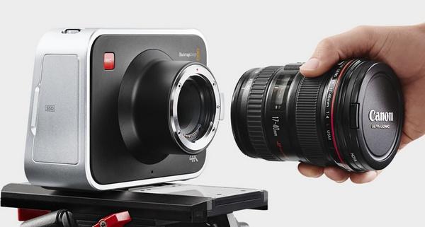 Blackmagic Production Camera 4K Digital Film Camera canon ef lens
