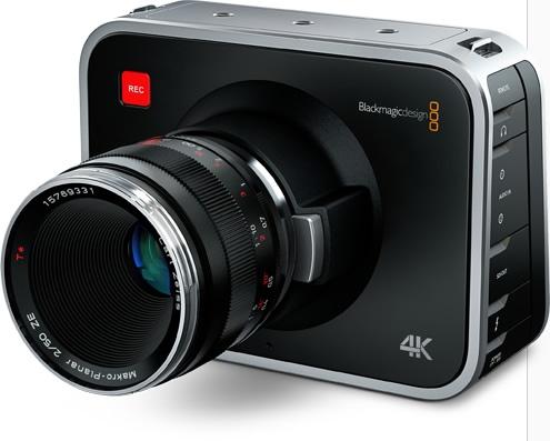Blackmagic Production Camera 4K Digital Film Camera