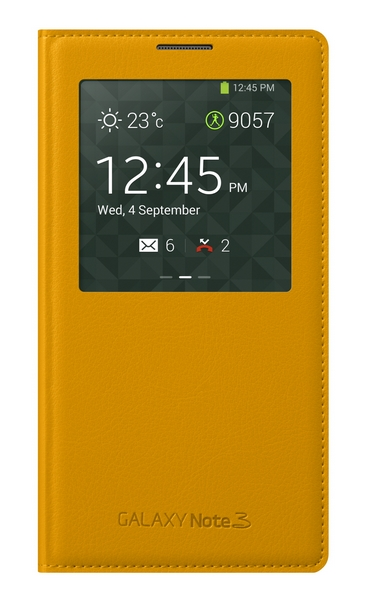Samsung Galaxy Note 3 cover yellow