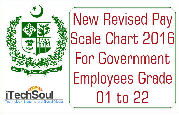 New Revised Basic Pay Scale Chart 2016 For Government Employees