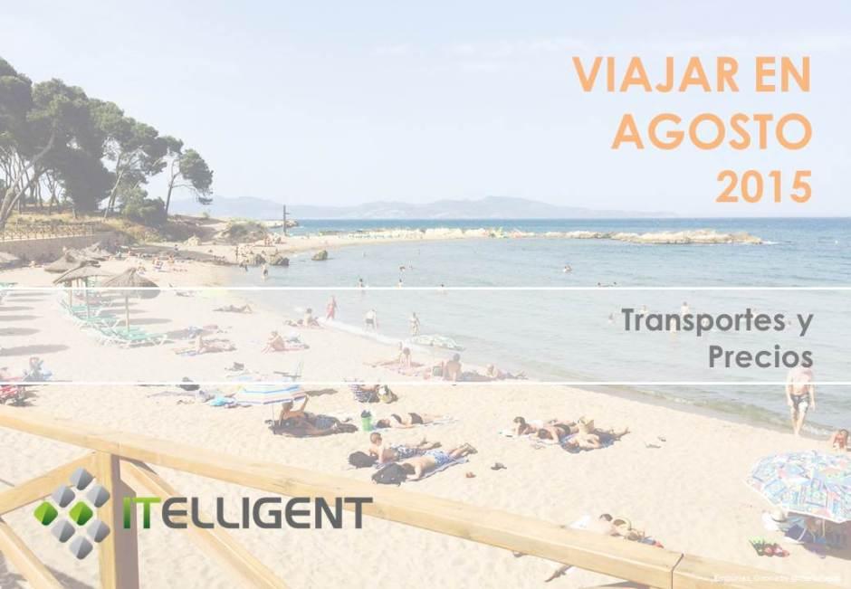 ITelligent_ViajarEnAgosto2015_Transporte y precios