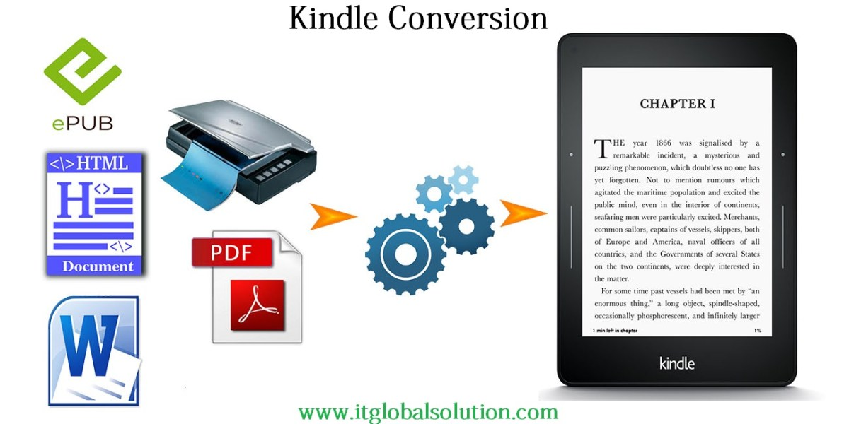 kindle conversion service