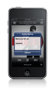 iPod Touch 2nd Gen Blutooth suport iPhone OS 3.0