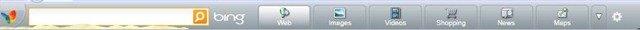 MSN Toolbar Bing Search