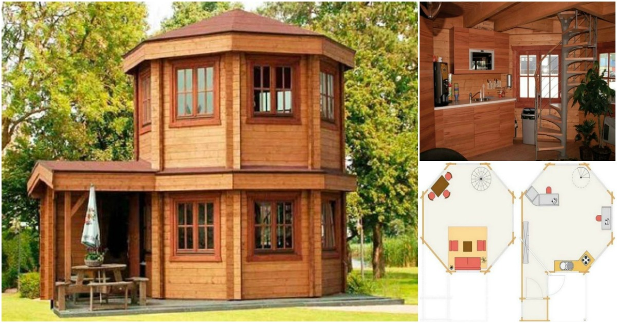 adorable 272 square feet domed tiny house from barrett