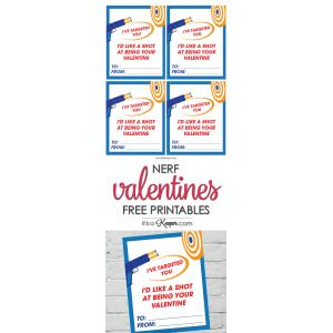 Scenic Nerf Valentine Printables Free Printable Nerf Med Valentines Toddlers Grade Free Valentine Printables Share Nerf Valentine Cards Printable It Is A Keeper Free Valentine Printables Youto Print