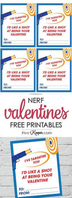 Scenic Nerf Valentine Printables Free Printable Nerf Med Valentines Toddlers Grade Free Valentine Printables Share Nerf Valentine Cards Printable It Is A Keeper Free Valentine Printables Youto Print