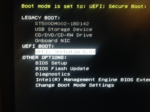 Qa Bootable Usb For Uefi Installation In Scripted