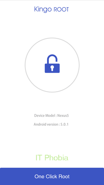 Kingo Android Root_one_click