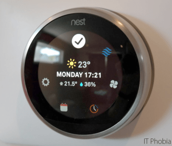 Nest Learning Thermostat 3rd Generation Complete Setup