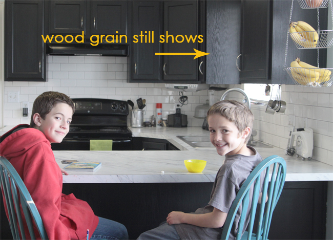 Rustoleum Cabinet Transformations review, before + after, and tips +