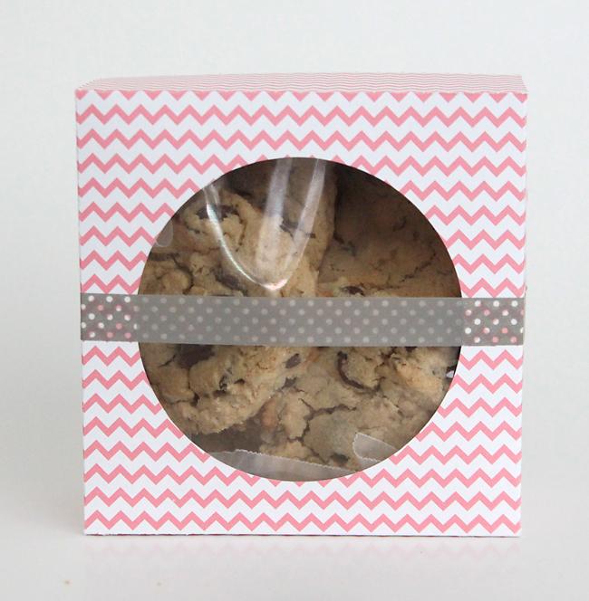 easy DIY folded paper cookie  treat gift box tutorial - It\u0027s Always