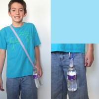easy DIY O-ring water bottle holder - It's Always Autumn