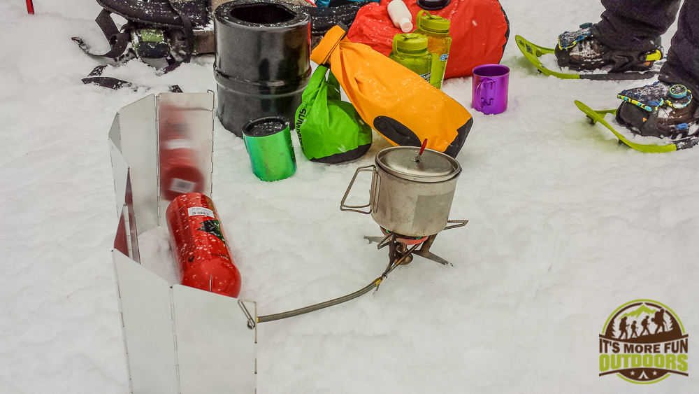 The MSR Whisperlite Universal Backpacking Stove. Liquid Gas Stoves such as the MSR Whisperlite Universal are the better choice for adventures inextreme cold.