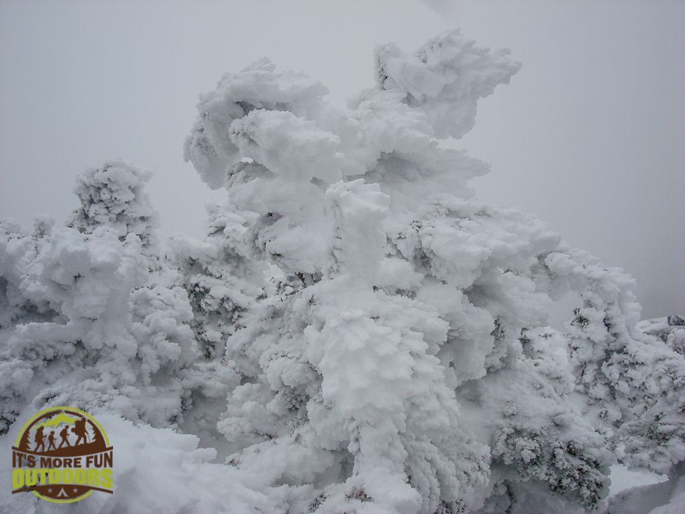 I love the frosty trees on summits! Finally a succcessful winter summit of Wright Peak in the Adirondack Mountains, NY in March of 2013! A calm day with no visibility, but it was a truly cool experience!