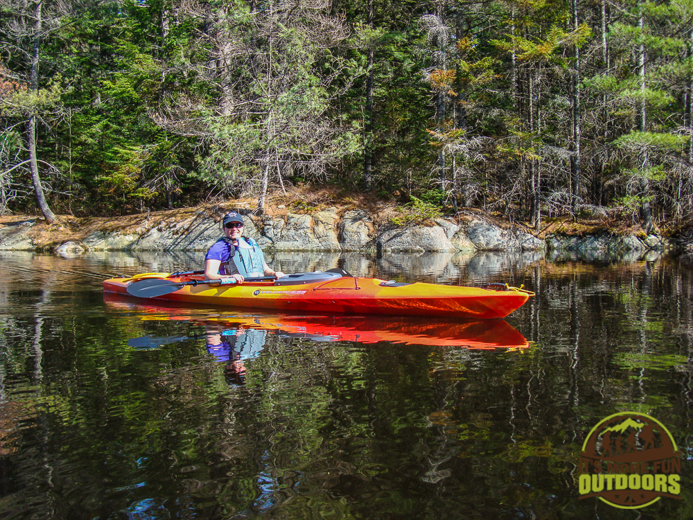 Gentle waters and a bluebird day! May 2015 Bog River Flow-Hitchins Pond Lows Lake