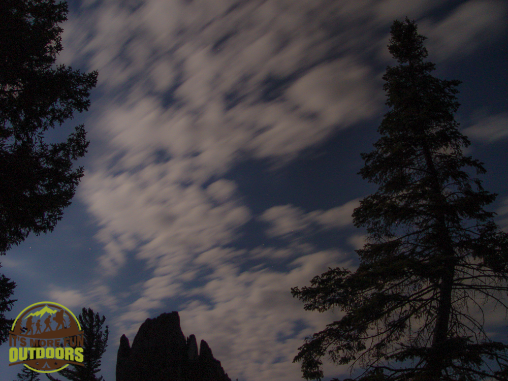 Having fun with the night sky and the cam. 2015 BOG RIVER FLOW-CAMPSITE 13