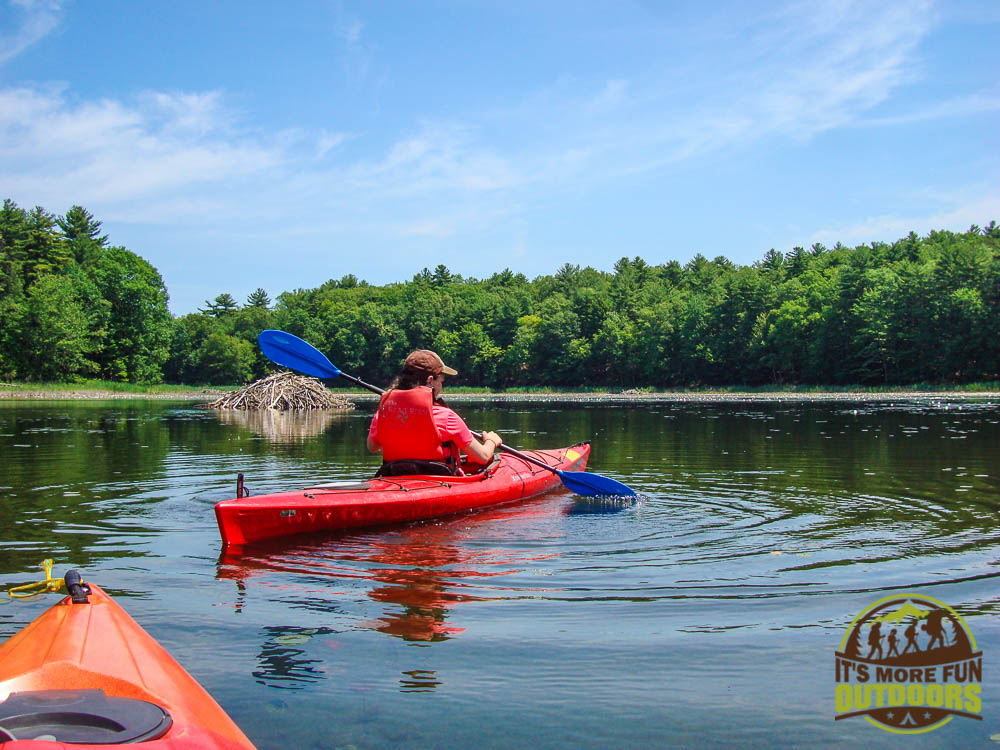 Paddling on Moreau Lake. Small, but clean and with a lot to keep the kiddos engaged. Campfire Breakfast. Car Camping, hiking, kayaking, canoeing at Moreau Lake State Park.