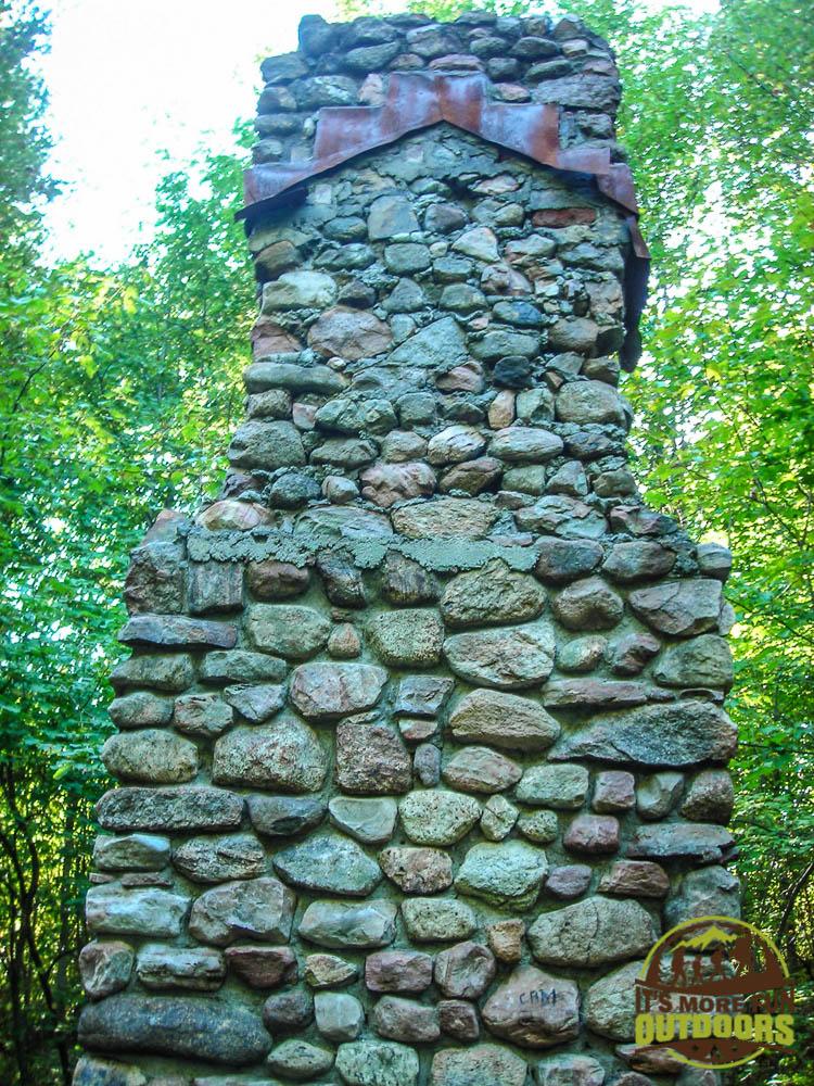 Ruins of what I believe was an old Ranger cabin. 9/6/2009: Poke-O-Moonshine Hike, Adirondacks, NY