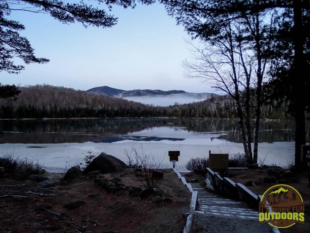 There is a trail to hike around Heart Lake if you want a lighter hike. Adirondak Loz, Lake Placid, NY, Adirondacks