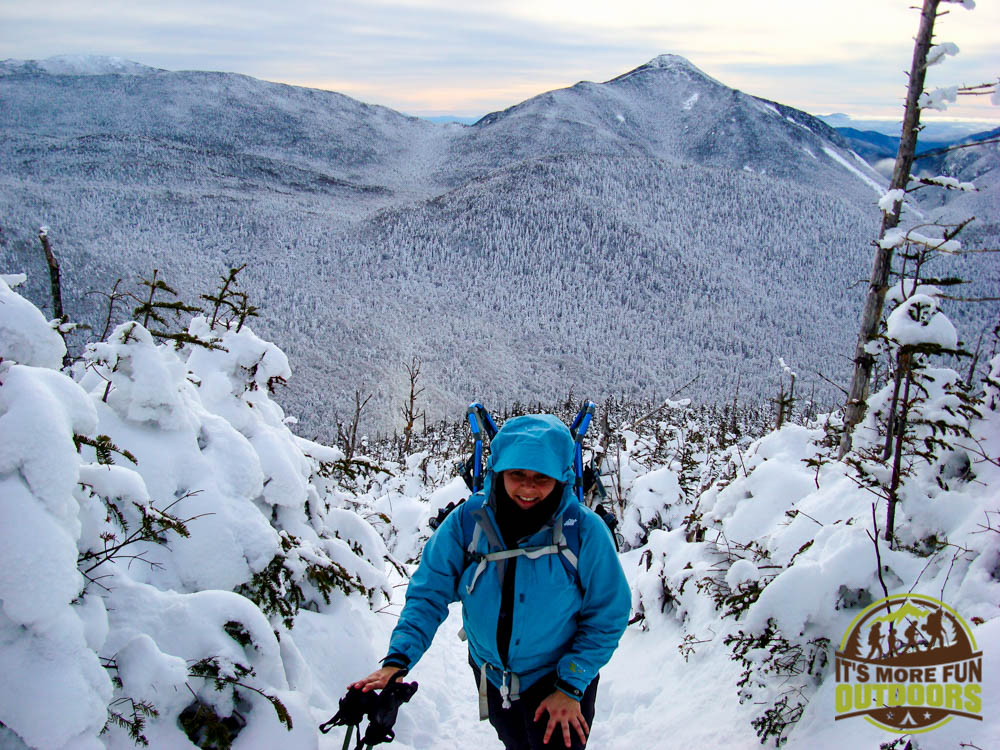 Me close to the summit of Phelps Mt, a climb you can do from the Adirondack Loj, Lake Placid, Adirondacks, NY