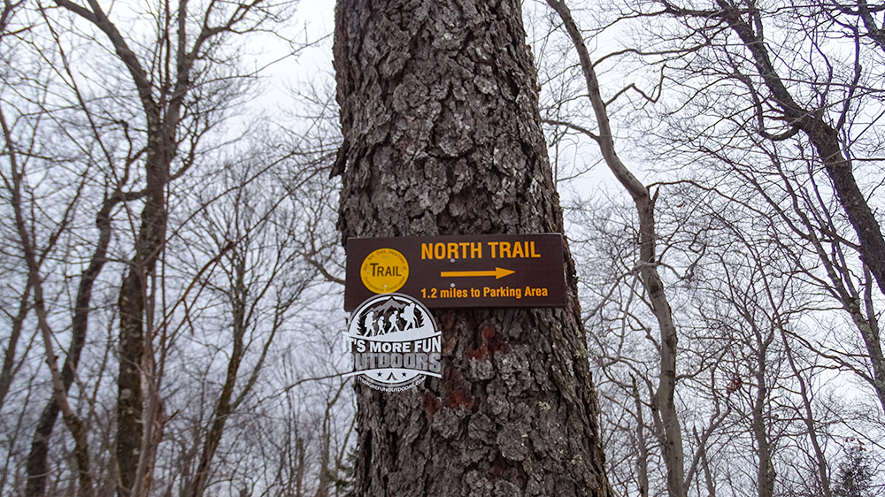we didn't see the newer trails until we reached the summit. 2/6/2016: Kane Mountain Winter Fire Tower Challenge Hike!