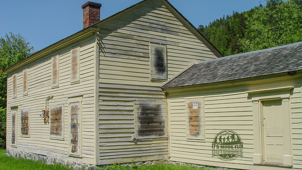 The MacNaughton Cottage. Teddy Roosevelt and family stayed here when TR went on an expedition in the Adirondacks. Henderson Lake Kayak Camping, Tahawus Hike!