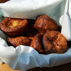 The New Basics Cookbook (Corn and Molasses Popovers)