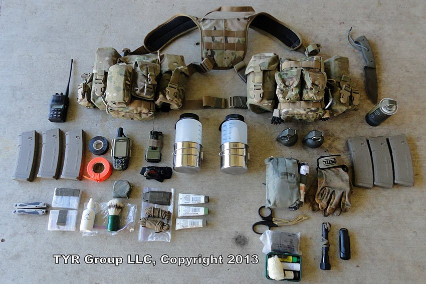 What Does A Military Combat Trackers Edc Gear Consist Of