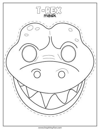 Dinosaur Activities - Fun Preschool Worksheet - Itsy Bitsy Fun