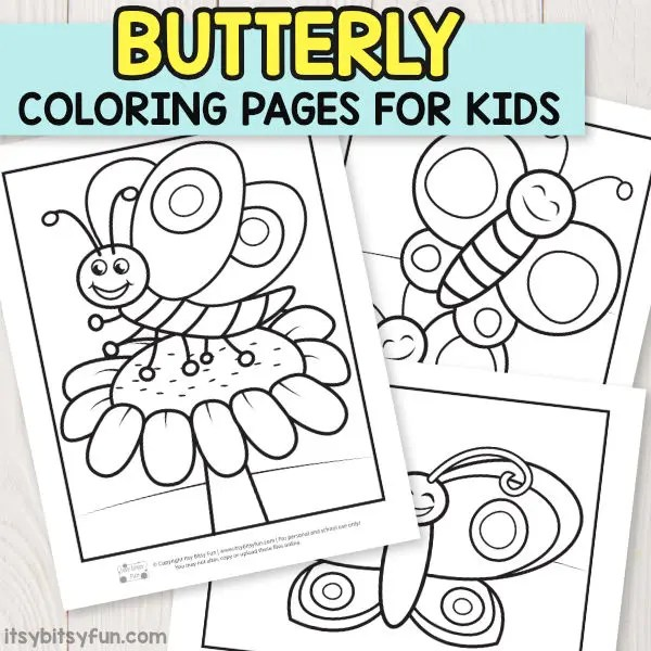 Free Printable Coloring Pages for Kids - Itsy Bitsy Fun
