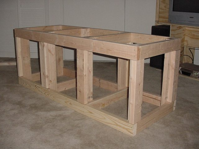 How To Build An Aquarium Stand For 180 Gallon Plans DIY Free Download