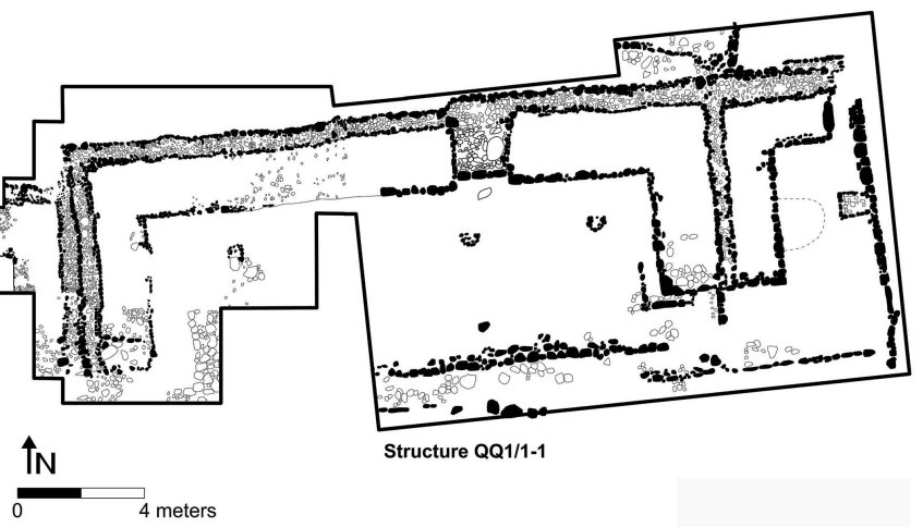 Plan of Structure  QQ1/1-1